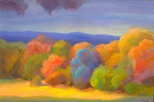 Along the Blue Ridge Mountains, Early Fall ArtID