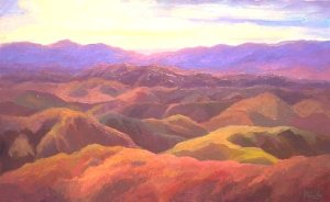 Calfornia Mountains lighter ArtID
