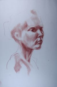 Thea Portrait Drawing